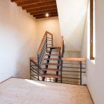 Nuova rampa di scala di accesso al sottotetto