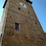 Vista torre dopo smontaggio ponteggio